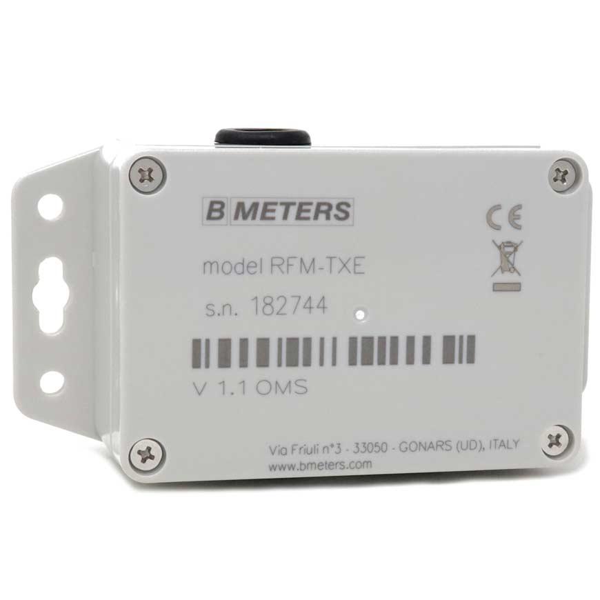 Modulo Wireless M-BUS per contatori con uscita ad impulsi BMETERS RFM – TXE 1.1