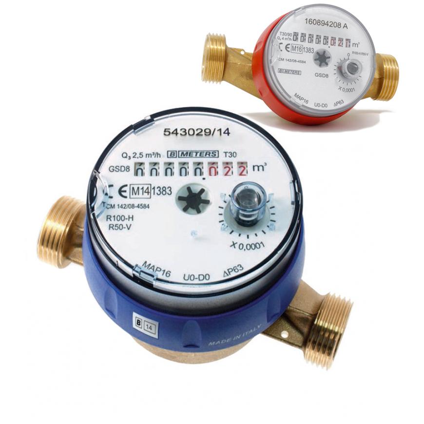 Contatore acqua getto singolo GSD8-RFM
