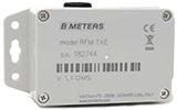Contatore acqua BMETERS RFM – TXE 1.1